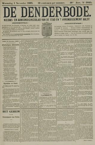 De Denderbode 1893-11-01