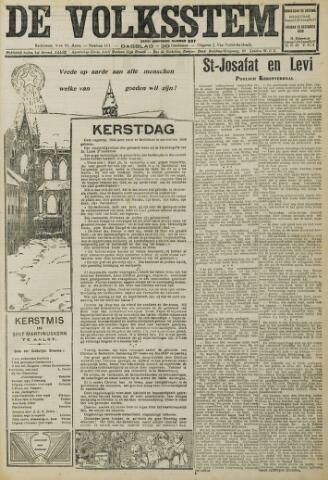 De Volksstem 1930-12-25