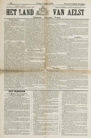 Het Land van Aelst 1881-08-07