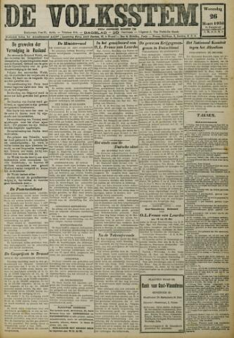 De Volksstem 1930-03-26