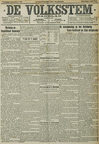 De Volksstem 1914-07-04