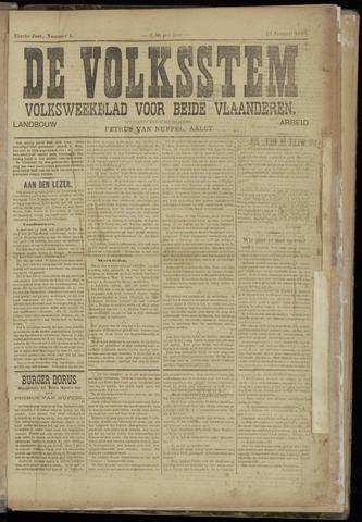 De Volksstem 1895-01-13