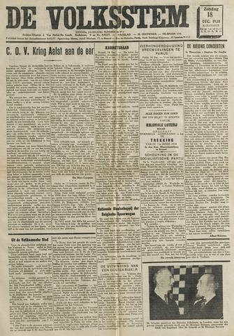 De Volksstem 1938-12-18