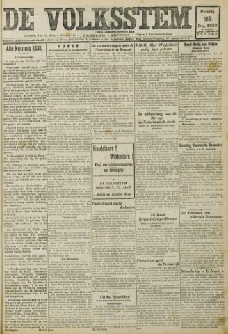 De Volksstem 1930-12-23