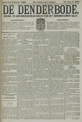 De Denderbode 1890-10-02