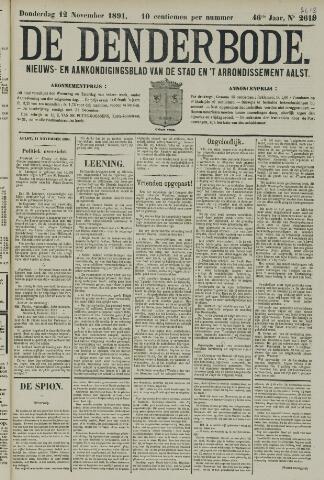 De Denderbode 1891-11-12