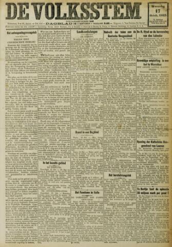 De Volksstem 1923-10-17