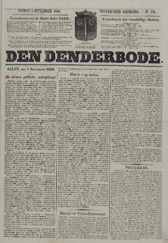 De Denderbode 1860-09-02