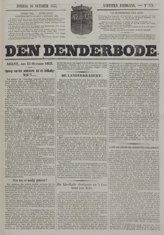 De Denderbode 1853-10-16