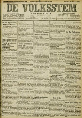 De Volksstem 1915-10-30