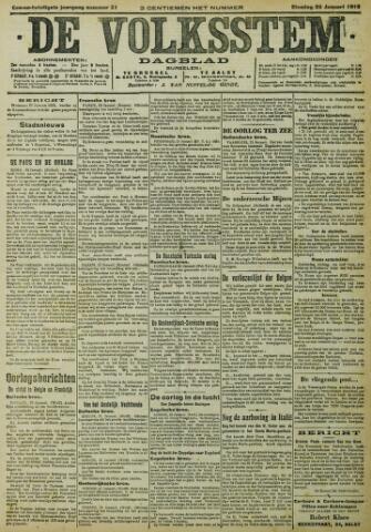 De Volksstem 1915-01-26