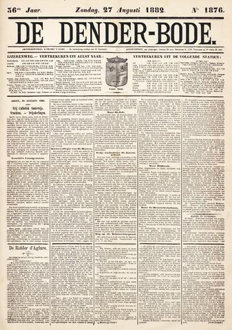 De Denderbode 1882-08-27