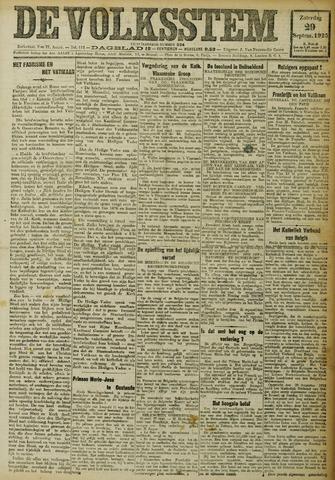 De Volksstem 1923-09-29