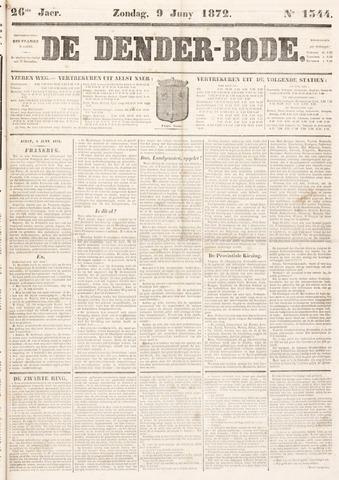 De Denderbode 1872-06-09
