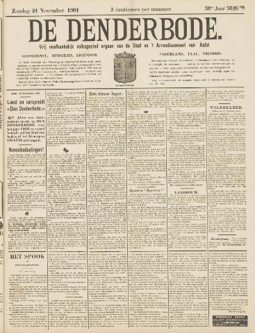 De Denderbode 1901-11-24
