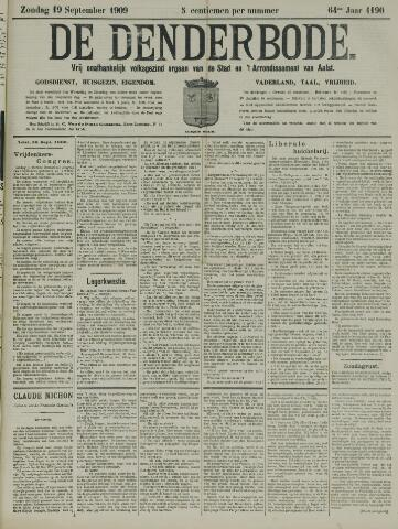 De Denderbode 1909-09-19
