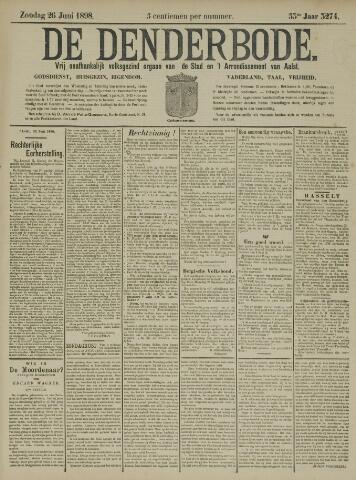De Denderbode 1898-06-26