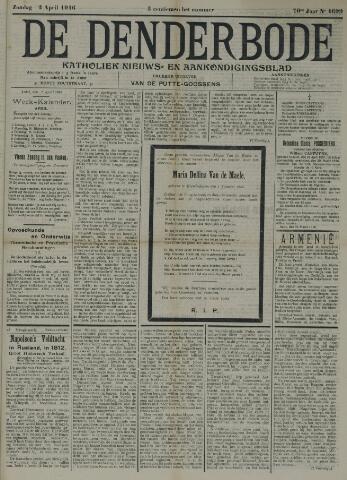 De Denderbode 1916-04-02
