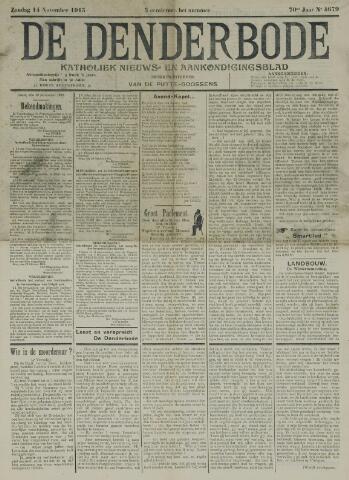 De Denderbode 1915-11-14