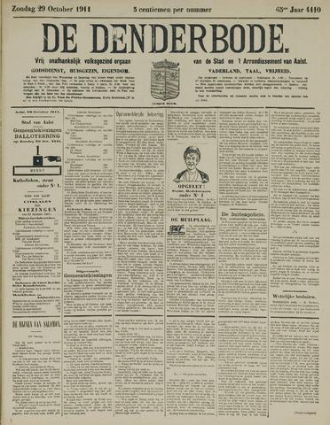 De Denderbode 1911-10-29