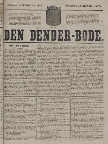 De Denderbode 1848-02-06