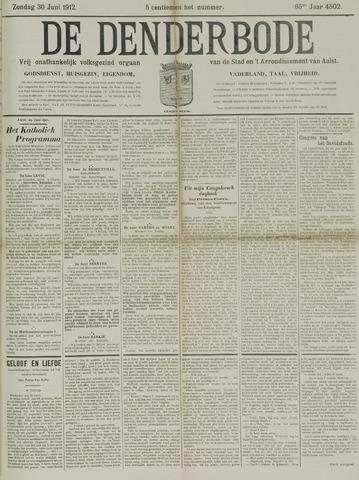 De Denderbode 1912-06-30