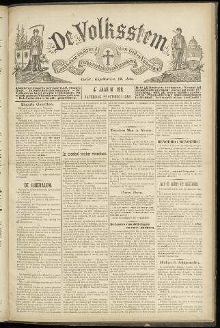 De Volksstem 1898-10-22