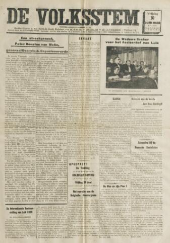 De Volksstem 1938-06-10