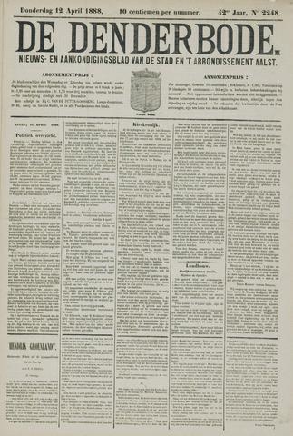 De Denderbode 1888-04-12
