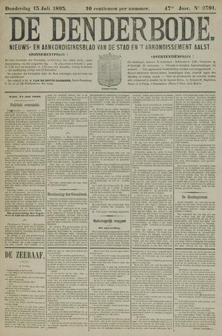 De Denderbode 1893-07-13