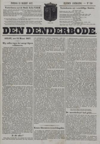 De Denderbode 1857-03-15