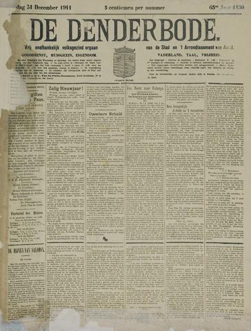 De Denderbode 1911-12-31