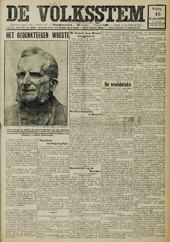 De Volksstem 1926-10-15