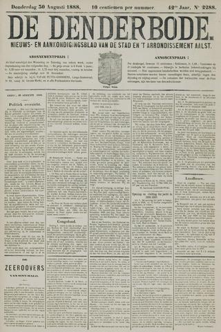 De Denderbode 1888-08-30