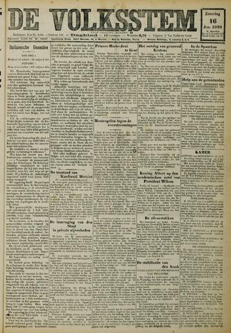 De Volksstem 1926-01-16