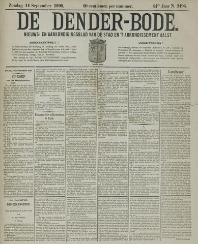 De Denderbode 1890-09-14
