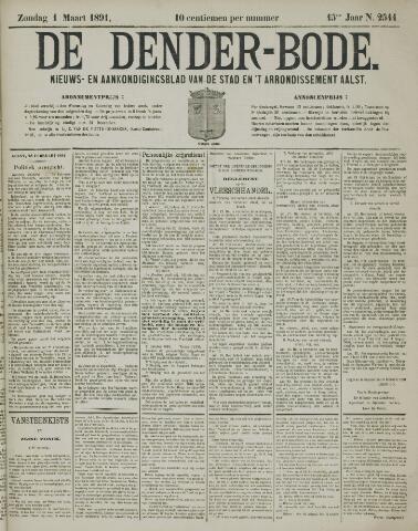De Denderbode 1891-03-01