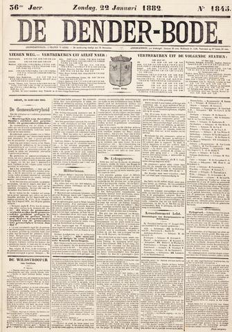 De Denderbode 1882-01-22