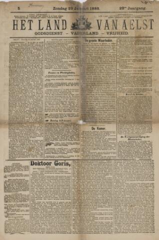 Het Land van Aelst 1888-01-29