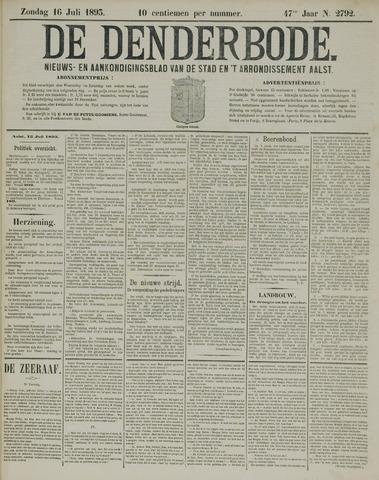 De Denderbode 1893-07-16