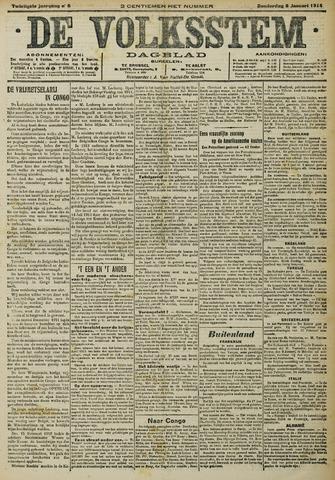 De Volksstem 1914-01-08