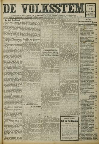 De Volksstem 1930-03-19