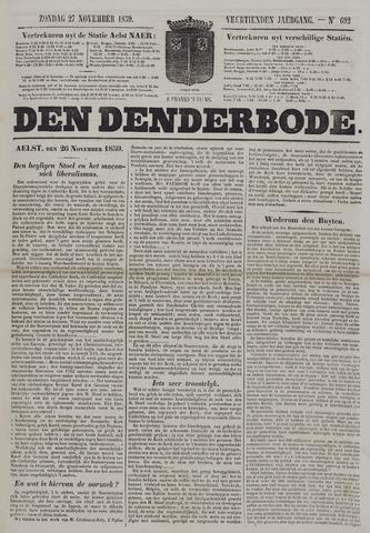 De Denderbode 1859-11-27