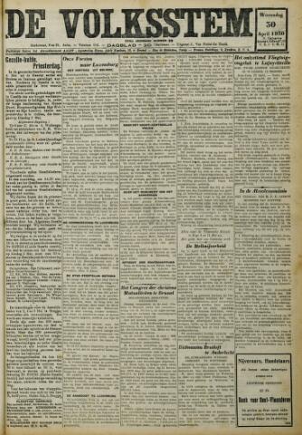 De Volksstem 1930-04-30
