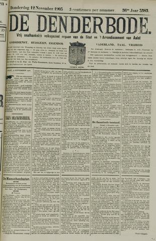 De Denderbode 1903-11-12