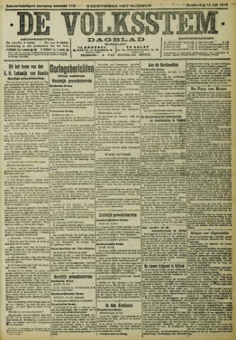 De Volksstem 1915-07-15
