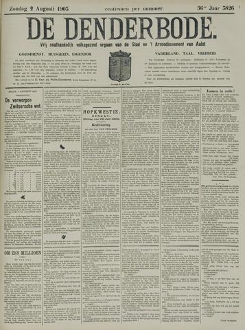 De Denderbode 1903-08-02
