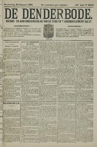 De Denderbode 1891-01-22
