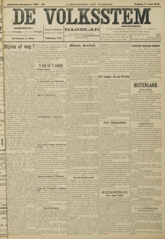 De Volksstem 1910-06-17