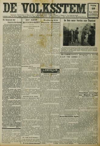 De Volksstem 1932-06-10